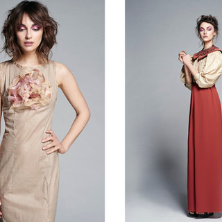 Blusa Neoclásica de la colección Perdida en el tiempo./ Neoclassic blouse from Lost in time collection.