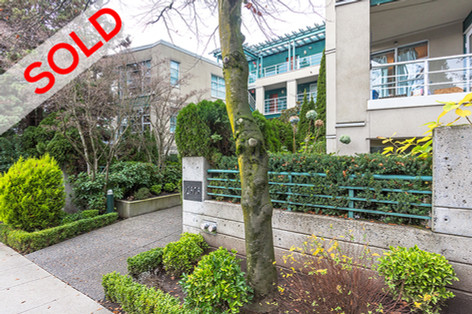 107 2575 West 4th Ave, Vancouver | $600,000