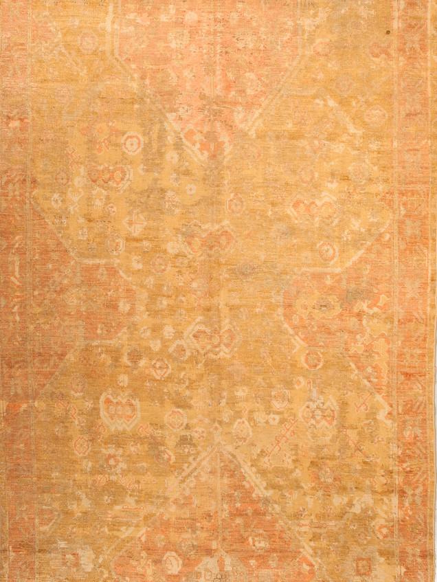 10051415 Turkey Antique Ushak 6'06x10'06