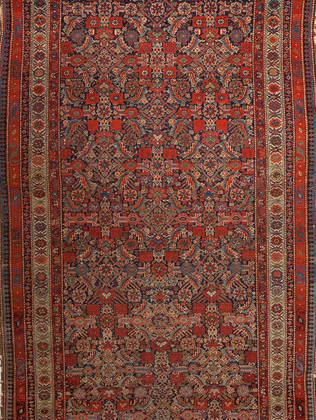 10051410 Iran Antique Malayer 5'00x11'00