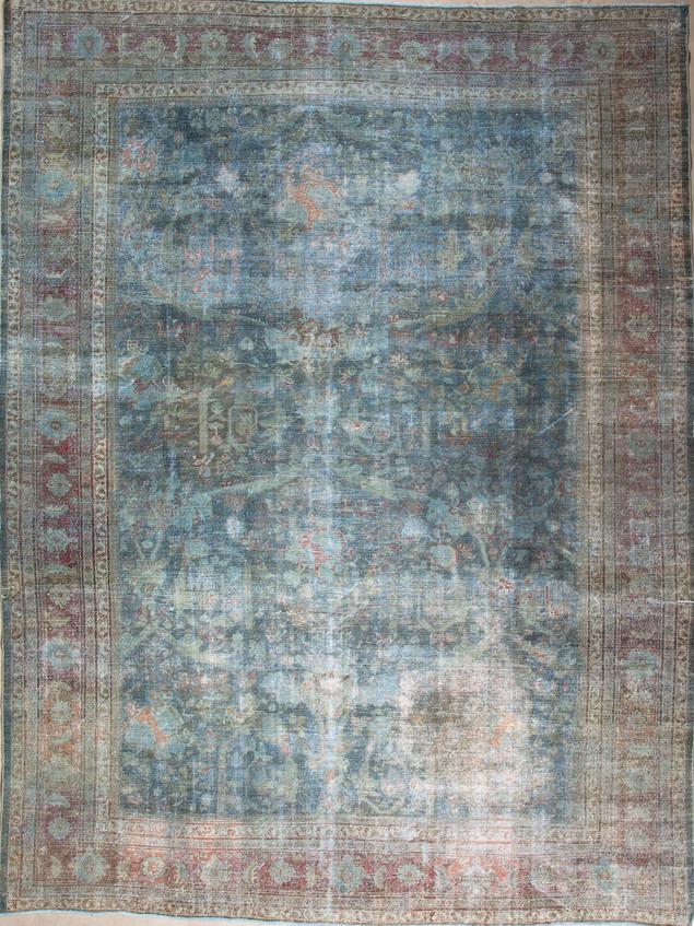 10051419 Iran Antique Mashad 10'02x13'06