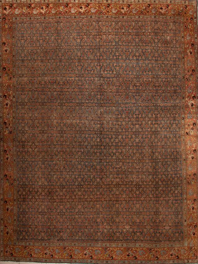 10051424 Iran Antique Bidjar 8'06x11'03
