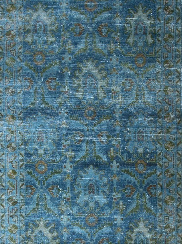 10051416 Iran Antique Mahal 3'06x16'08 H