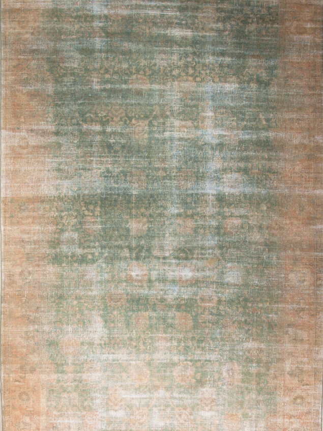 10051417 Iran Antique Tabriz 9'00x15'03