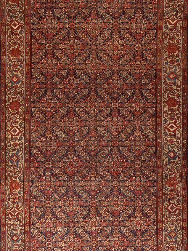 10051413 Iran Antique Malayer 5'00x9'05