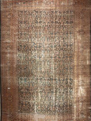10051409 Iran Antique Mahal 12'06x18'06