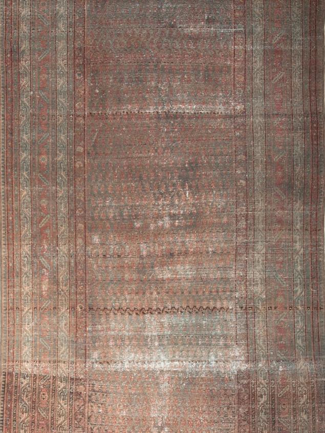10051421 Iran Antique Malayer 6'06x16'02