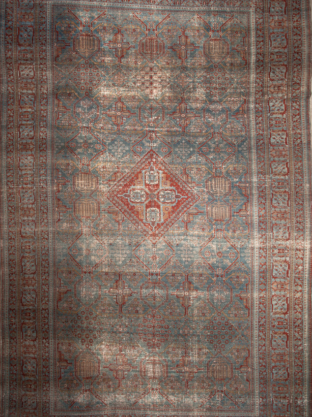 10051426 Iran Antique Dokrash 14'00x21'1