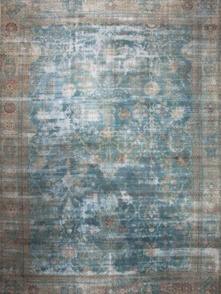 10051407 Iran Antique Kerman 13'00x19'00