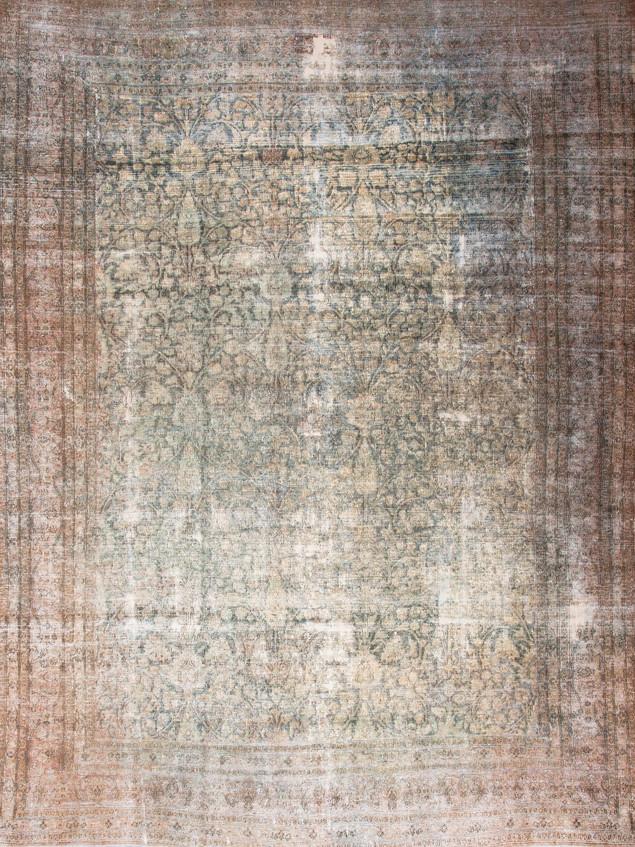 10051418 Iran Antique Mashad 10'02x13'04
