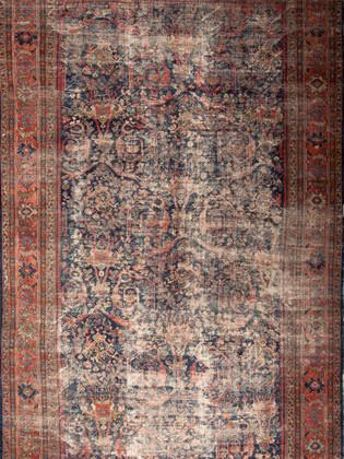 10051411 Iran Antique Mahal 10'04x17'02