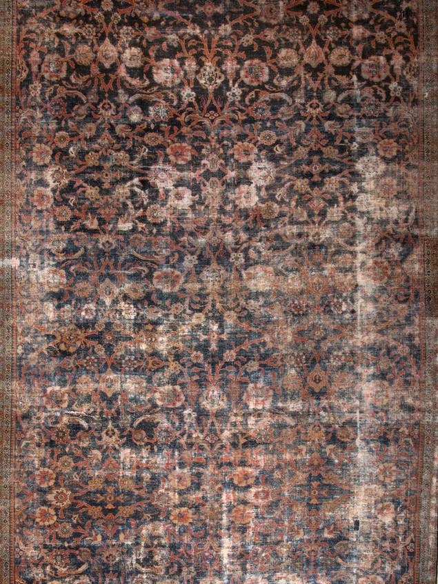 10051408 Iran Antique Mahal 10'04x17'00