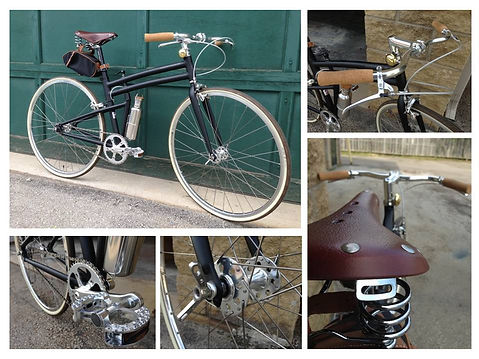 Montague Cutom Folding Bike