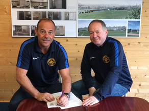 Collins Commits Future to Town