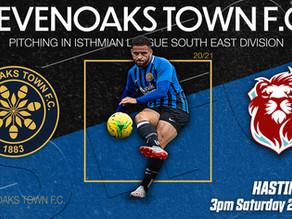 Sevenoaks Town v Hastings Town FC