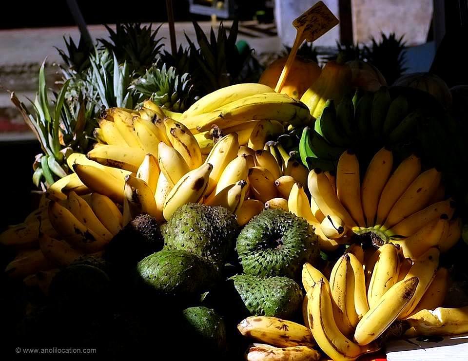 Anoli Location_Banane et Corossol