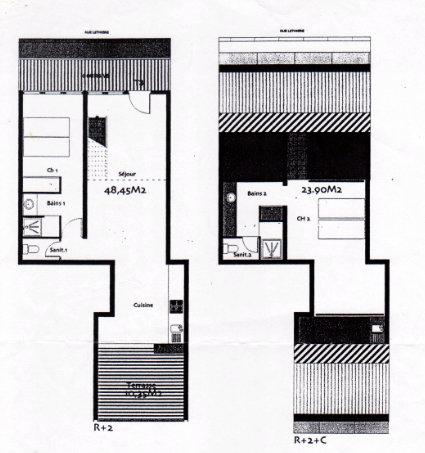 Plan duplex