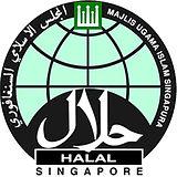 MUIS Halal Certified