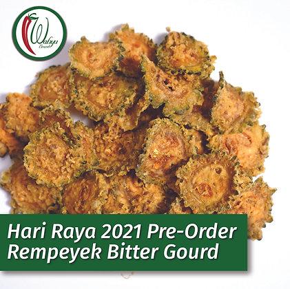 PRE-ORDER Rempeyek Bitter Gourd (Peria), 400g