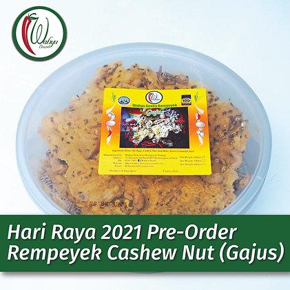PRE-ORDER Rempeyek Cashew Nut (Gajus), 400g