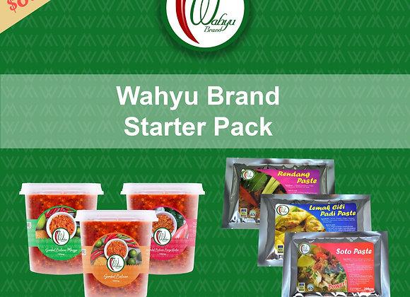Save $8.00! Wahyu Brand Variety Pack