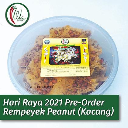 PRE-ORDER Rempeyek Peanut (Kacang), 400g