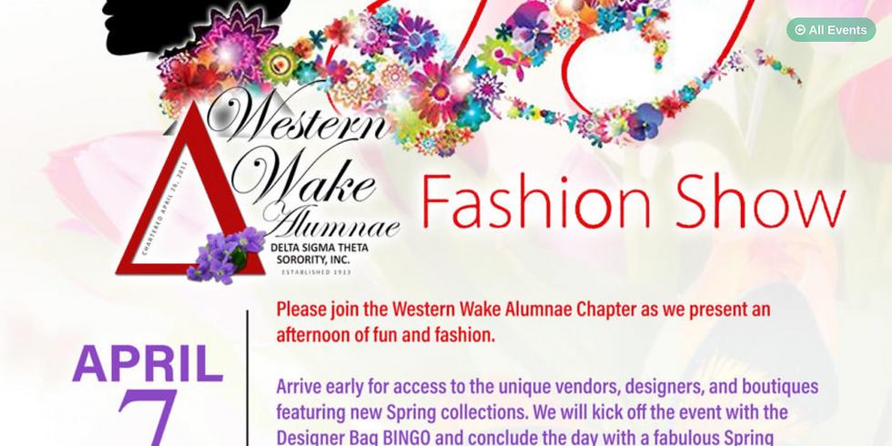 Western Wake Alumnae Chapter of Delta Sigma Theta Spring Fashion Show