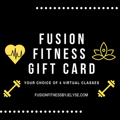 Fusion Fitness Gift Card