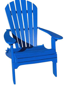 Blue Adirondack Chair