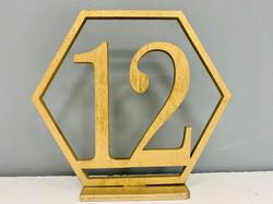 Gold Hexagon Numbers