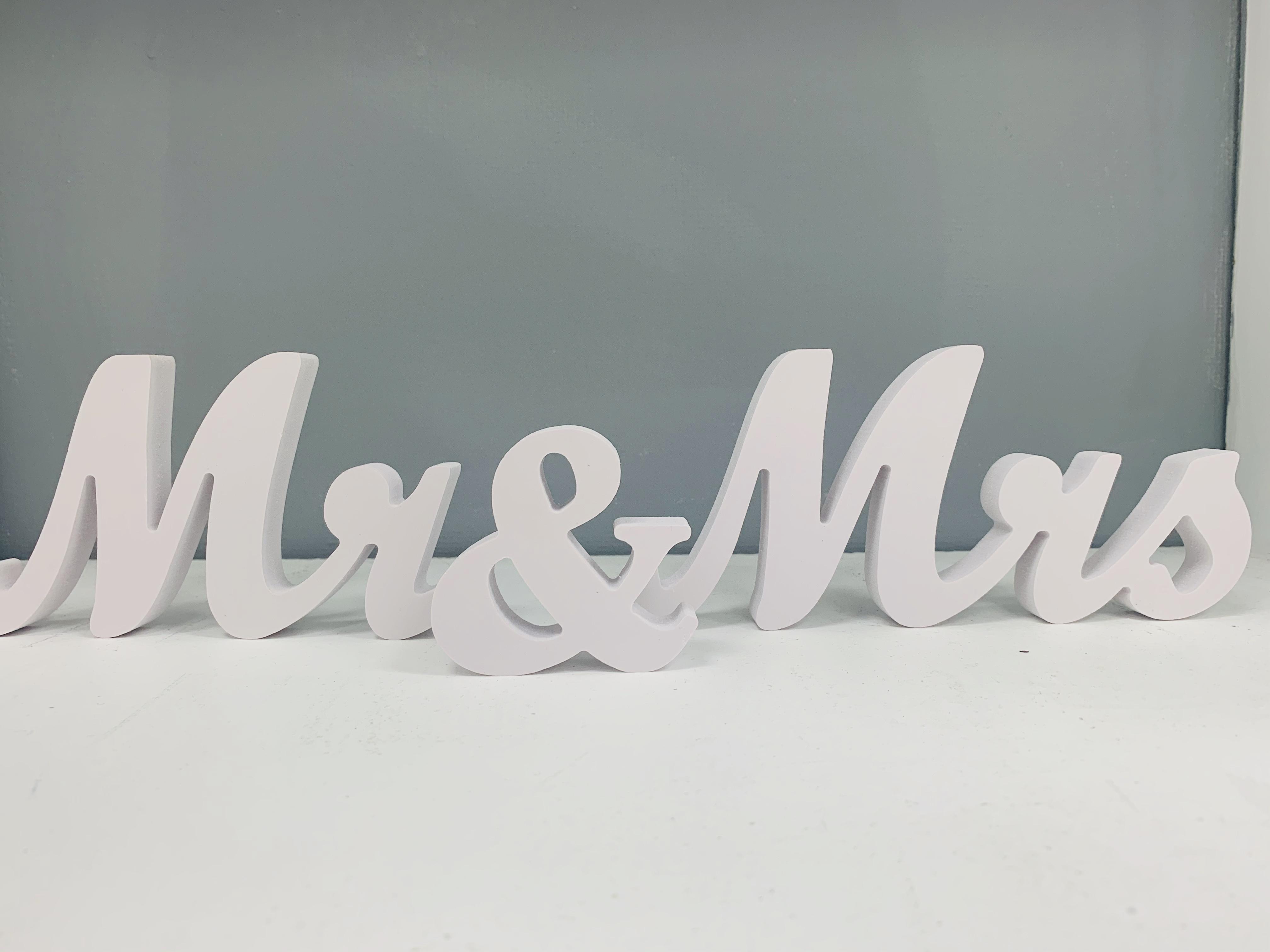 White MR & MRS