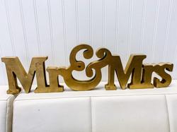 Gold MR&MRS
