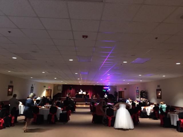 Activity Auditorium - black and red - (2