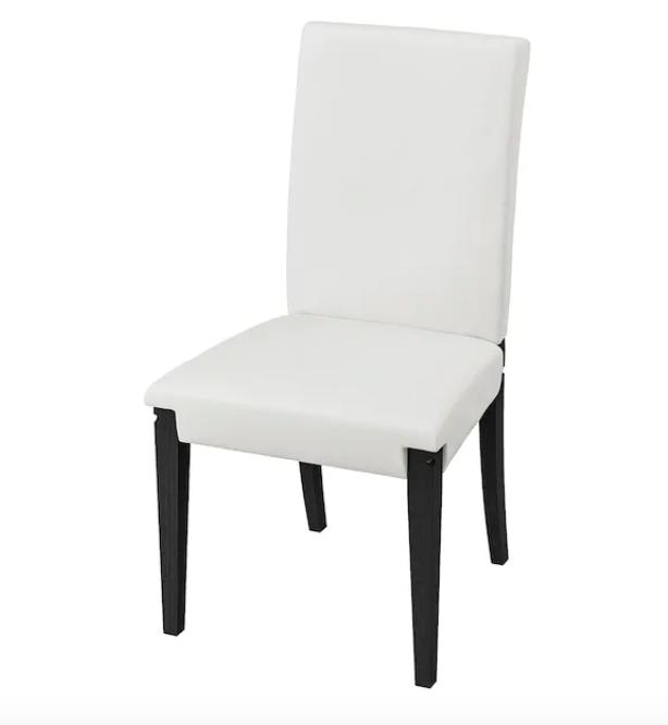 White Panel Chair