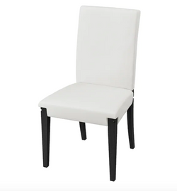 White Panel Chair