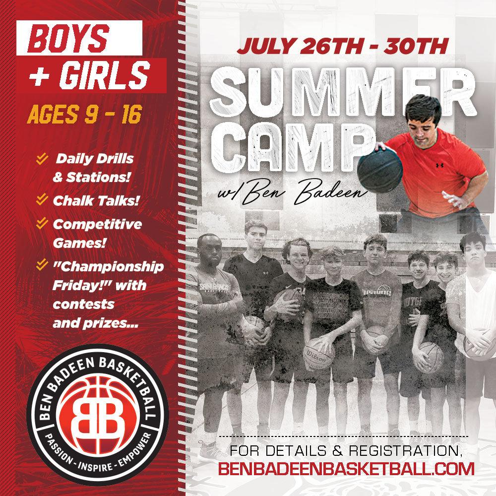Ben Badeen Basketball Summer Camp