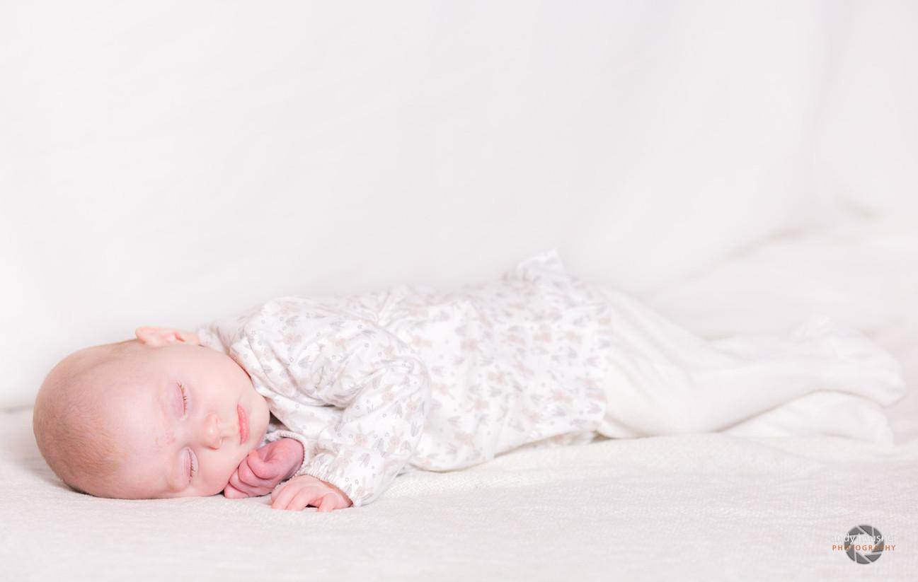 Babybild von Mädchen