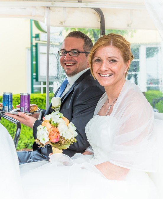 Brautpaar vor dem Hochzeitsshooting