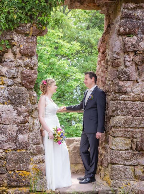 Brautpaar Shooting in der Burg
