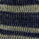 Plated Engineered Stripe Knit