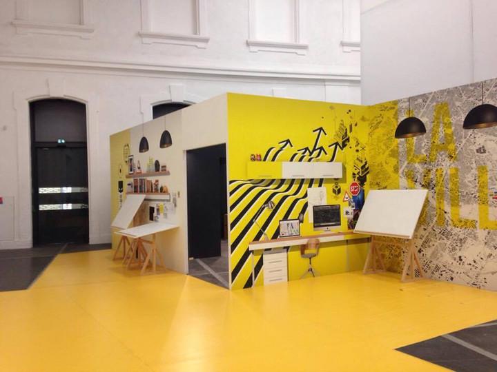 Participation à la scénographie et la création de fleurs en papier pour l'exposition au Quai des Savoirs à Toulouse