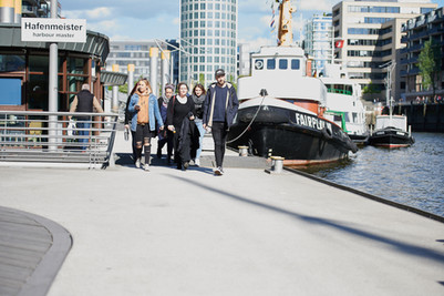Secretcitytours.de Outdoor Stadttour Hamburg Team