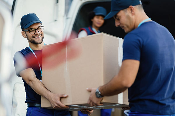 team of professional movers