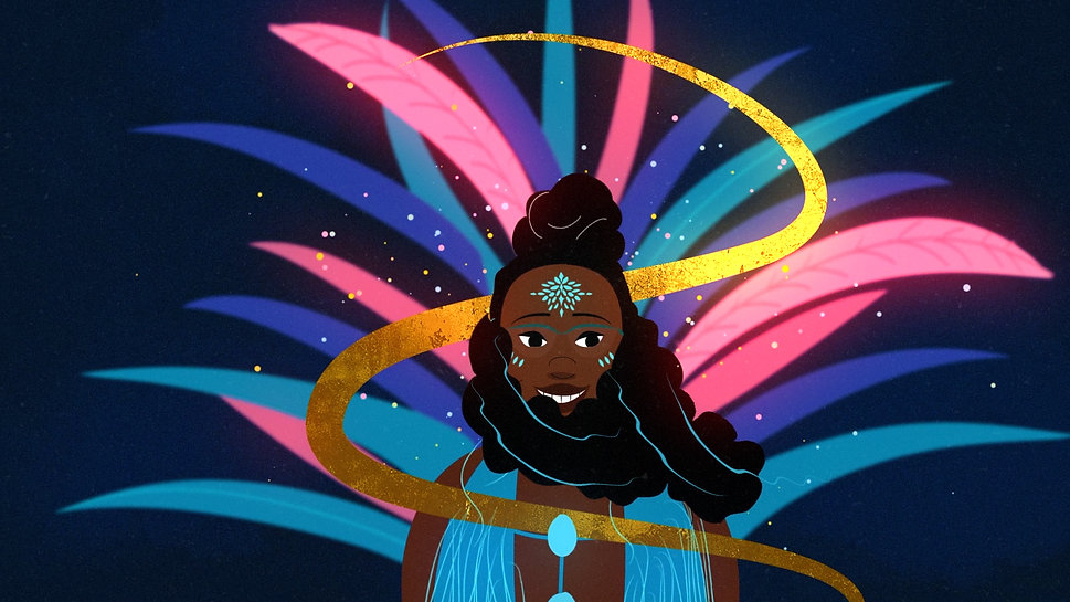 black girl magic illustration Alex Zepherin