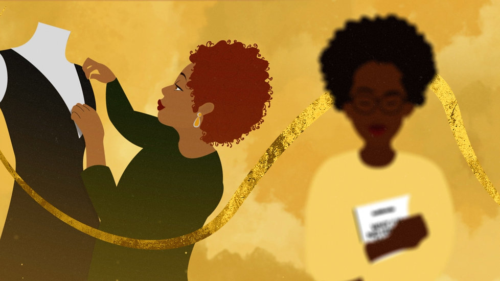 black girl magic illustration Alex Zepherin