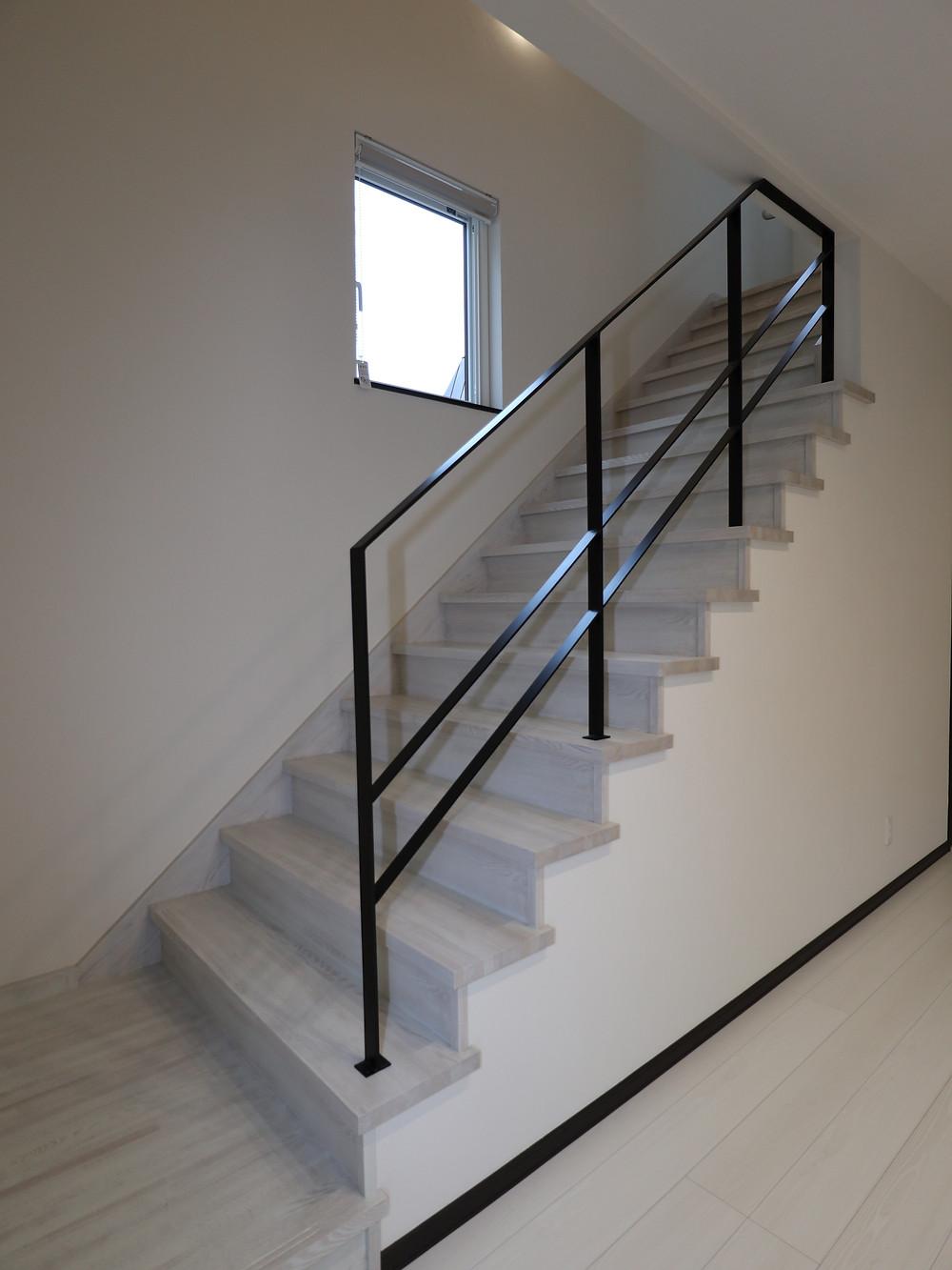 階段(手すり製作)