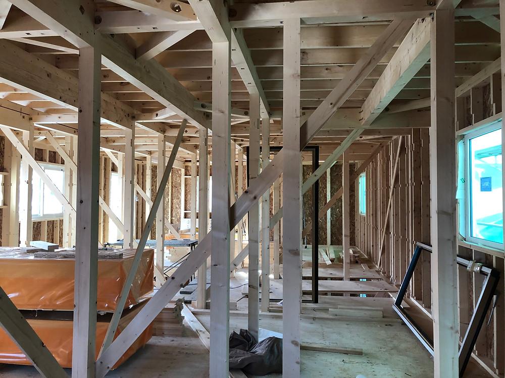 住宅瑕疵保険の構造検査を受けました!