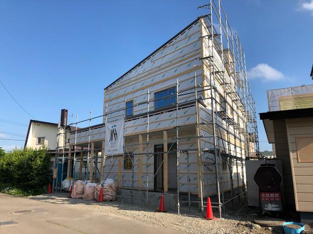 新築住宅工事進捗状況