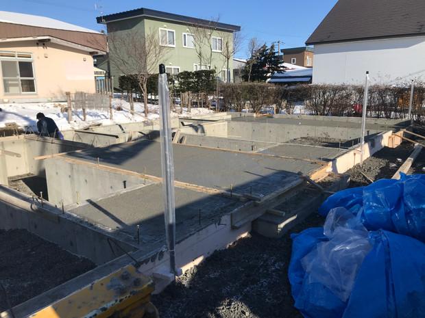 共同住宅新築工事着工
