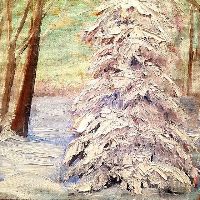 Inspired by all the snow-covered trees.jpg It feels as if  I am in a Lawren Harris painting.jpg #6 w